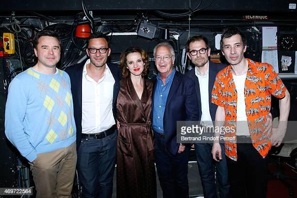 Actors Guillaume de Tonquedec Lysiane Meis Eric Elmosnino Autors of the piece Alexandre de la Patelliere Matthieu Delaporte and Stage Director...