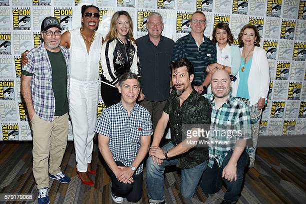 Actors H Jon Benjamin Aisha Tyler Judy Greer Adam Reed producer Matt Thompson actors Amber Nash Jessica Walter actors Chris Parnell Lucky Yates and...