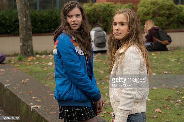 Actors Hailee Steinfeld and Haley Lu Richardson in a scene from the film 'The Edge of Seventeen' 2016