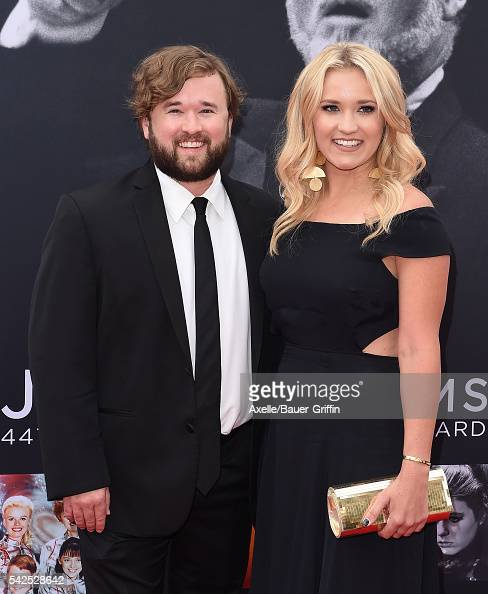 Actors Haley Joel Osment and Emily Osment arrive at the 44th AFI Life Achievement Awards Gala Tribute to John Williams at Dolby Theatre on June 9...