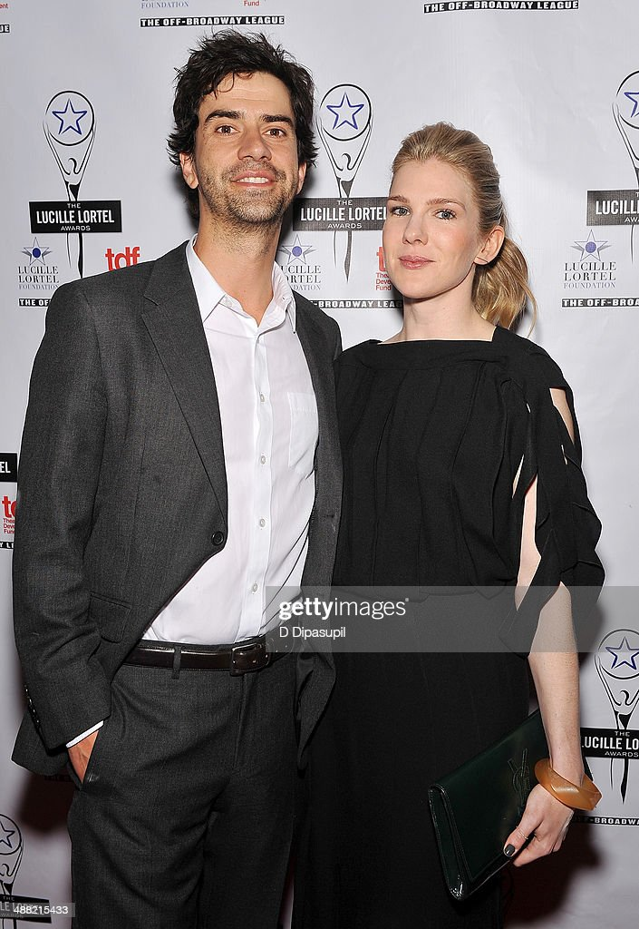 Actors <a gi-track='captionPersonalityLinkClicked' href=/galleries/search?phrase=Hamish+Linklater&family=editorial&specificpeople=646154 ng-click='$event.stopPropagation()'>Hamish Linklater</a> and <a gi-track='captionPersonalityLinkClicked' href=/galleries/search?phrase=Lily+Rabe&family=editorial&specificpeople=233506 ng-click='$event.stopPropagation()'>Lily Rabe</a> attend the 29th Annual Lucille Lortel Awards at NYU Skirball Center on May 4, 2014 in New York City.