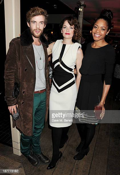 Actors Harry Treadaway Ruth Wilson and Naomie Harris attend the InStyle Best of British Talent party in association with Lancome and Charles...