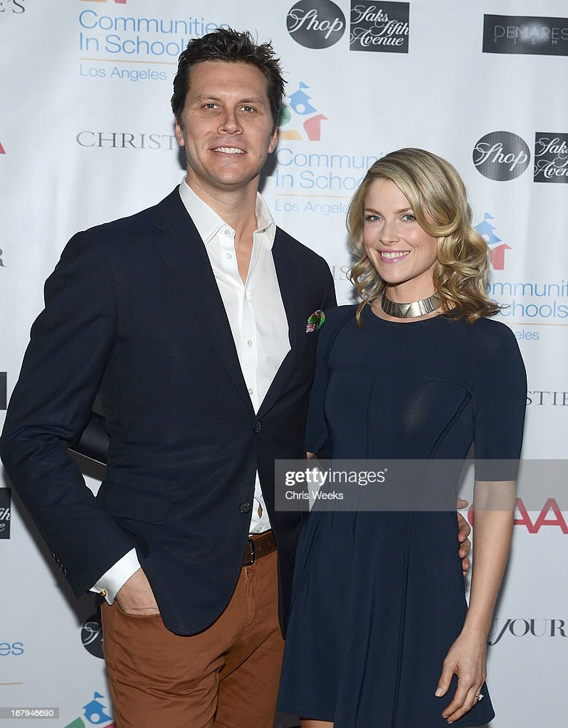 Actors <a gi-track='captionPersonalityLinkClicked' href=/galleries/search?phrase=Hayes+MacArthur&family=editorial&specificpeople=2465134 ng-click='$event.stopPropagation()'>Hayes MacArthur</a> and <a gi-track='captionPersonalityLinkClicked' href=/galleries/search?phrase=Ali+Larter&family=editorial&specificpeople=208082 ng-click='$event.stopPropagation()'>Ali Larter</a> attend the Communities In Schools 'School Life' Gala at a Private Residence on May 2, 2013 in Beverly Hills, California.