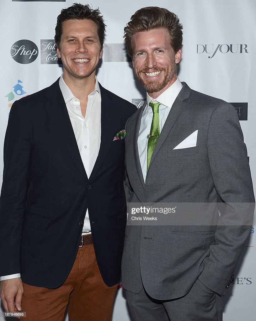 Actors <a gi-track='captionPersonalityLinkClicked' href=/galleries/search?phrase=Hayes+MacArthur&family=editorial&specificpeople=2465134 ng-click='$event.stopPropagation()'>Hayes MacArthur</a> and <a gi-track='captionPersonalityLinkClicked' href=/galleries/search?phrase=Josh+Meyers+-+Actor&family=editorial&specificpeople=12906216 ng-click='$event.stopPropagation()'>Josh Meyers</a> attends the Communities In Schools 'School Life' Gala at a Private Residence on May 2, 2013 in Beverly Hills, California.