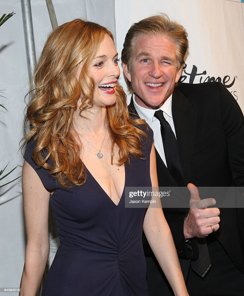 Actors Heather Graham and Matthew Modine attend the Creative Coalition's 2009 Inaugural Ball at the Harman Center for the Arts on January 20 2009 in...