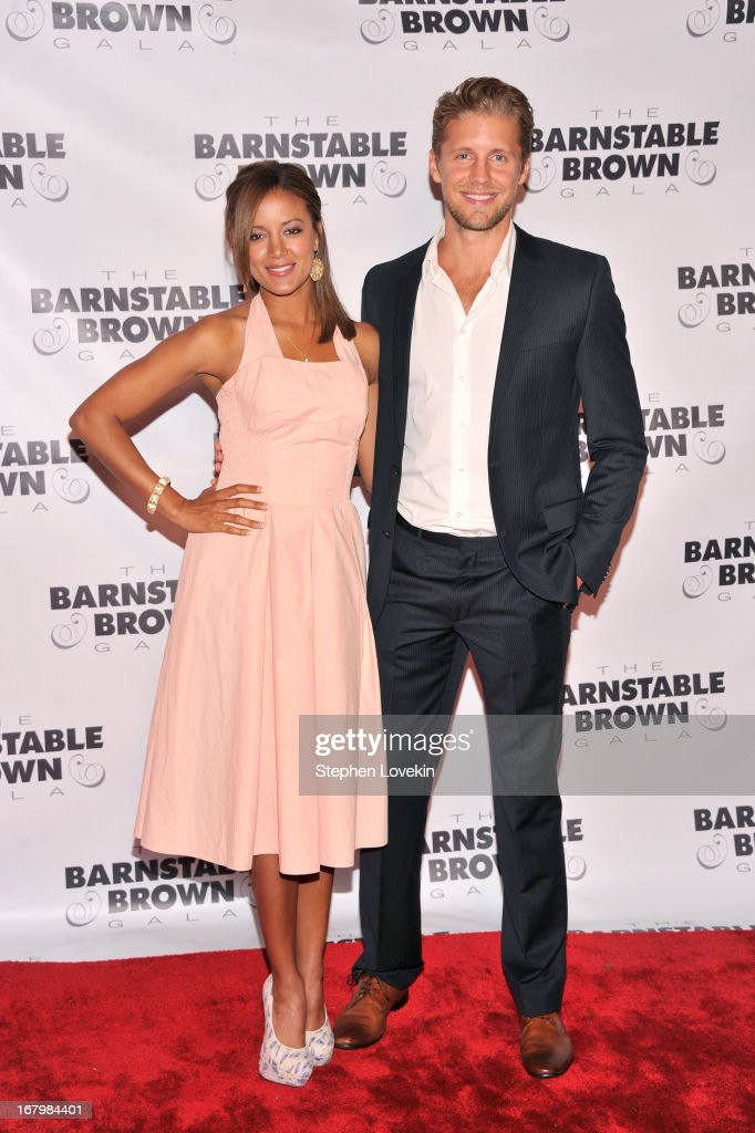 Actors Heather Hemmens and Matt Barr attend the 2013 Barnstable-Brown Derby gala at Barnstable-Brown House on May 3, 2013 in Louisville, Kentucky.