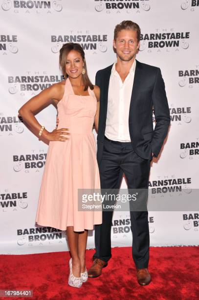 Actors Heather Hemmens and Matt Barr attend the 2013 BarnstableBrown Derby gala at BarnstableBrown House on May 3 2013 in Louisville Kentucky