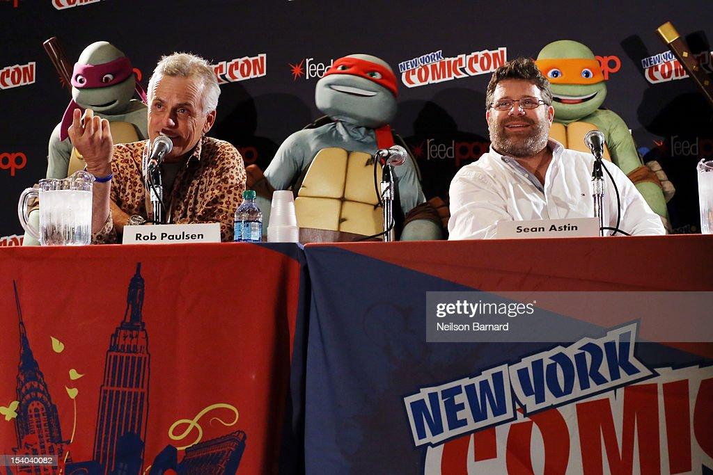 Nickelodeon's Teenage Mutant Ninja Turtles Emerge At NY ...