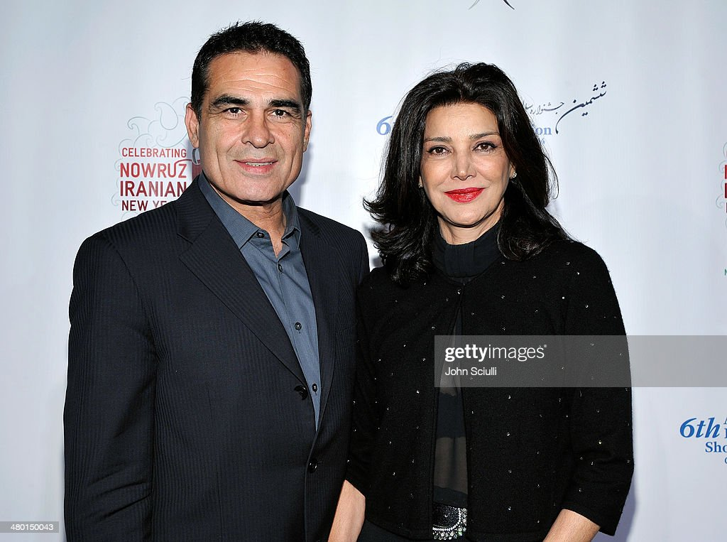 Actors Houshang Touzie and <a gi-track='captionPersonalityLinkClicked' href=/galleries/search?phrase=Shohreh+Aghdashloo&family=editorial&specificpeople=210536 ng-click='$event.stopPropagation()'>Shohreh Aghdashloo</a> attend the 6th Annual Farhang Foundation's Short Film Festival award ceremony and reception at LACMA on March 22, 2014 in Los Angeles, California.