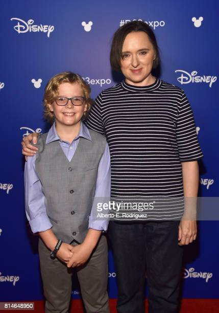 Actors Huck Milner and Sarah Vowell of INCREDIBLES 2 took part today in the Walt Disney Studios animation presentation at Disney's D23 EXPO 2017 in...