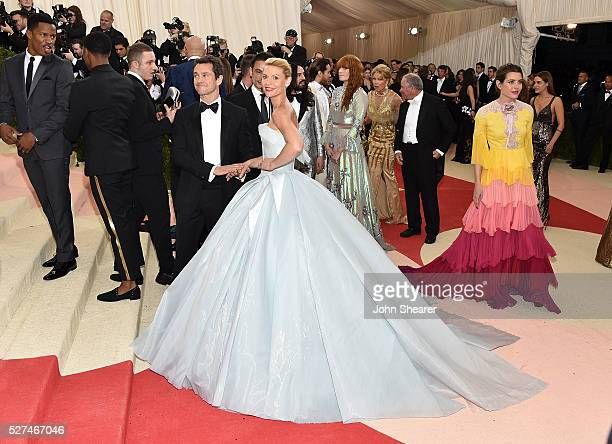 Actors Hugh Dancy and Claire Danes attend the 'Manus x Machina Fashion In An Age Of Technology' Costume Institute Gala at Metropolitan Museum of Art...