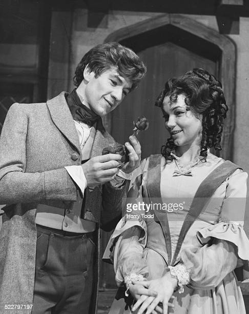 Actors Ian McKellan and Tina Packer in costume for the BBC serialization of the Charles Dickens novel 'David Copperfield' London December 22nd 1965