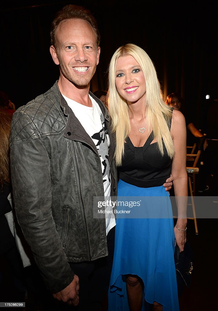 Actors Ian Ziering (L) and Tara Reid attend CW Network's 2013 Young Hollywood Awards presented by Crest 3D White and SodaStream held at The Broad Stage on August 1, 2013 in Santa Monica, California.