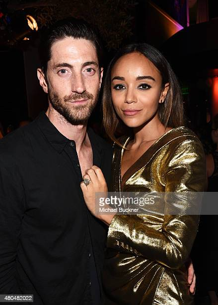 Actors Iddo Goldberg and Ashley Madekwe attend Entertainment Weekly's ComicCon 2015 Party sponsored by HBO Honda Bud Light Lime and Bud Light Ritas...