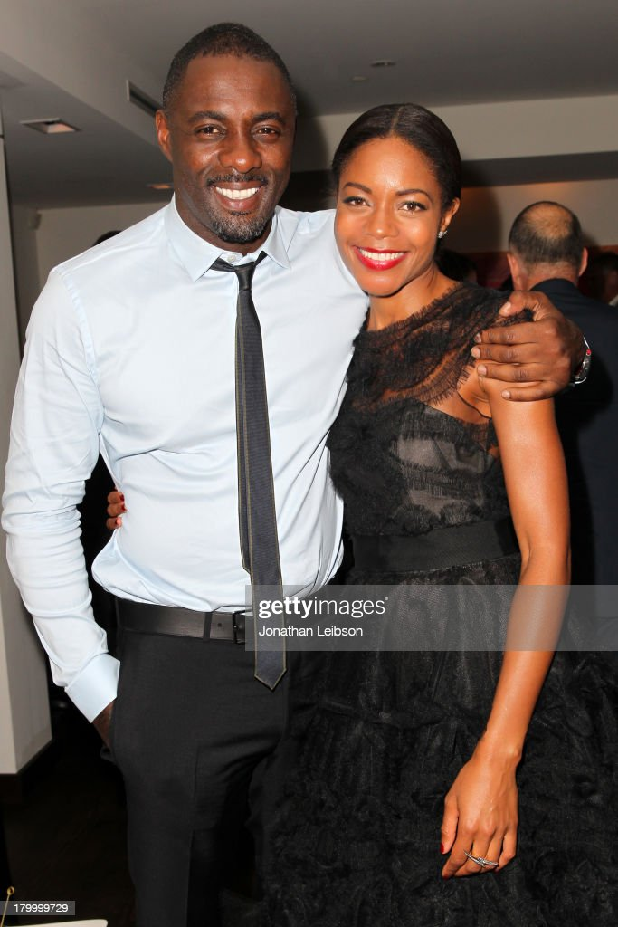 Actors <a gi-track='captionPersonalityLinkClicked' href=/galleries/search?phrase=Idris+Elba&family=editorial&specificpeople=215443 ng-click='$event.stopPropagation()'>Idris Elba</a> and <a gi-track='captionPersonalityLinkClicked' href=/galleries/search?phrase=Naomie+Harris&family=editorial&specificpeople=238918 ng-click='$event.stopPropagation()'>Naomie Harris</a> attend the Burberry supported premiere and celebration of 'Mandela: Long Walk to Freedom' hosted by The Weinstein Company and Entertainment One at the Toronto International Film Festival on September 7, 2013 in Toronto, Canada.