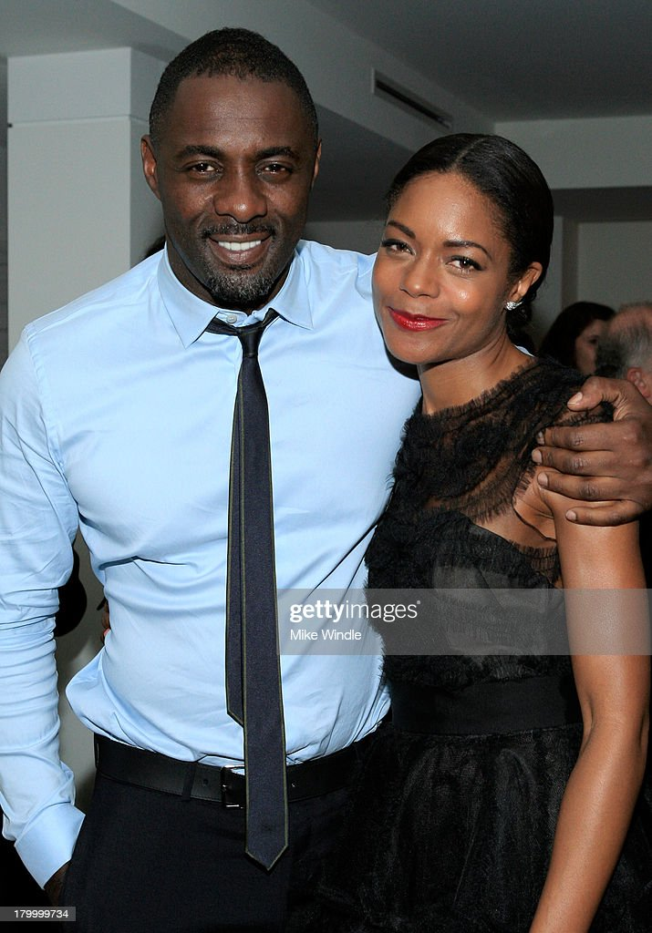 Actors Idris Elba and Naomie Harris attend the Burberry supported premiere and celebration of 'Mandela: Long Walk to Freedom' hosted by The Weinstein Company and Entertainment One at the Toronto International Film Festival on September 7, 2013 in Toronto, Canada.