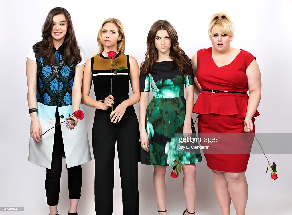 Cast of Pitch Perfect 2, Los Angeles Times, May 10, 2015
