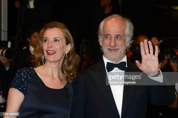 Actors Isabella Ferrari and Toni Servillo attend the 'La Grande Bellezza' premiere during The 66th Annual Cannes Film Festival at Theatre Lumiere on...
