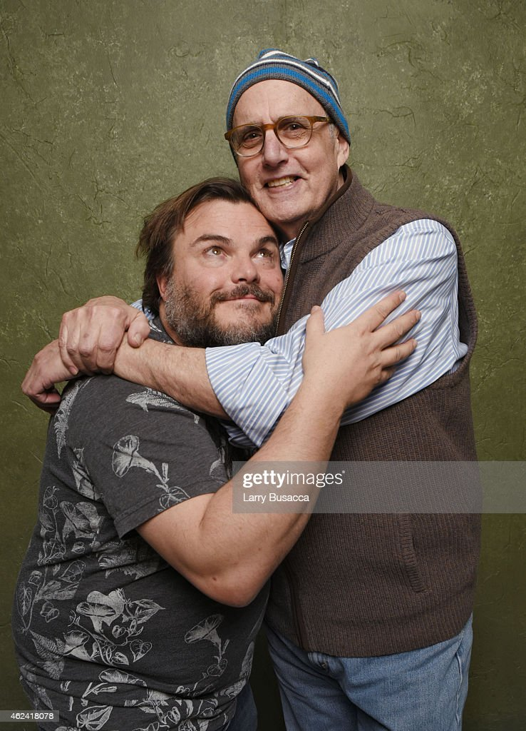 Actors Jack Black (L) and Jeffrey Tambor from 'D-Train' pose for a portrait at the Village at the Lift Presented by McDonald's McCafe during the 2015 Sundance Film Festival on January 23, 2015 in Park City, Utah.