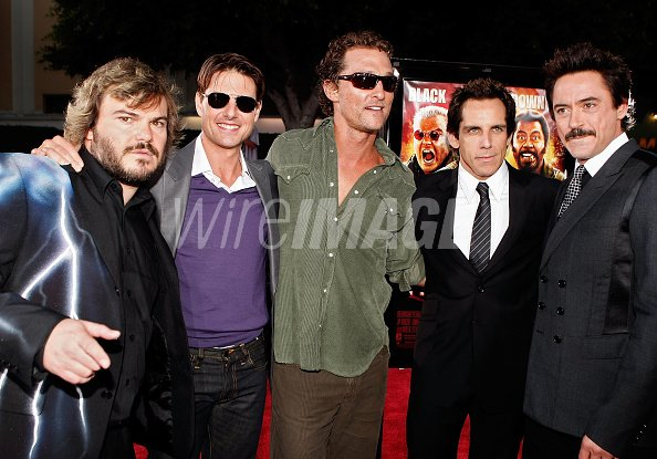 Actors Jack Black Tom Cruise...