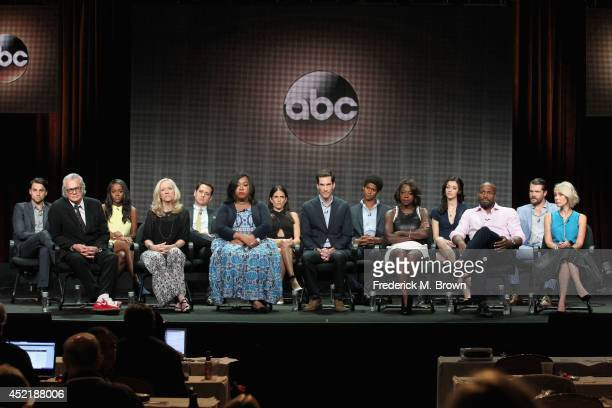 Actors Jack Falahee Aja Naomi King Matt McGorry Karla Souza Alfred Enoch Katie Findley Charlie Weber Director/Executive Producer Bill D'Elia...