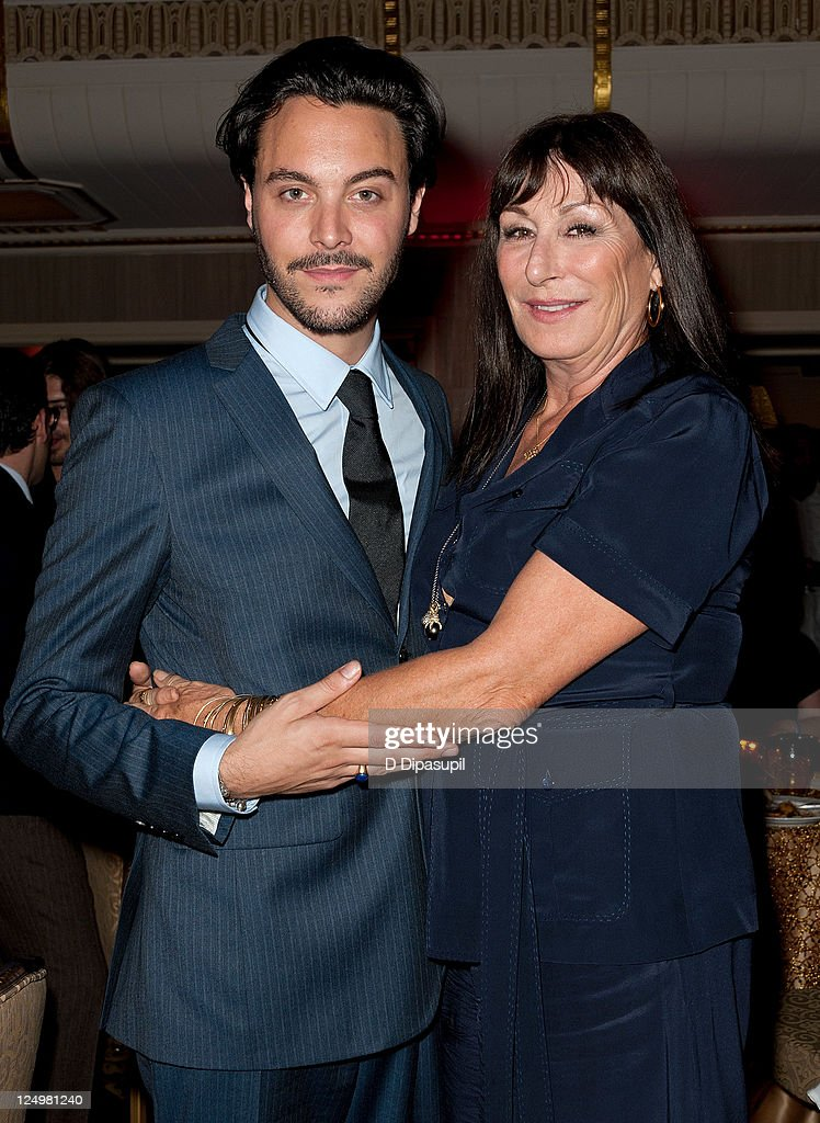 Actors Jack Huston and Angelica Huston attend the 'Boardwalk Empire' Season 2 premiere after party at the The Waldorf=Astoria on September 14 2011 in...