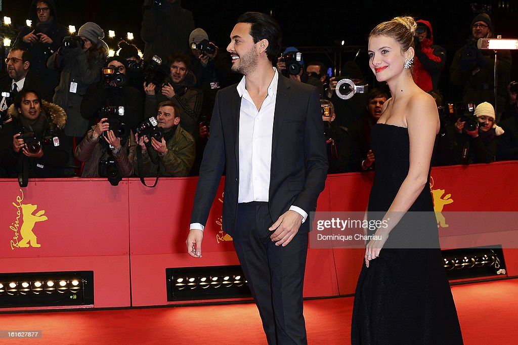 Actors Jack Huston and Melanie Laurent attend the 'Night Train to Lisbon' Premiere during the 63rd Berlinale International Film Festival at the Berlinale Palast on February 13, 2013 in Berlin, Germany.