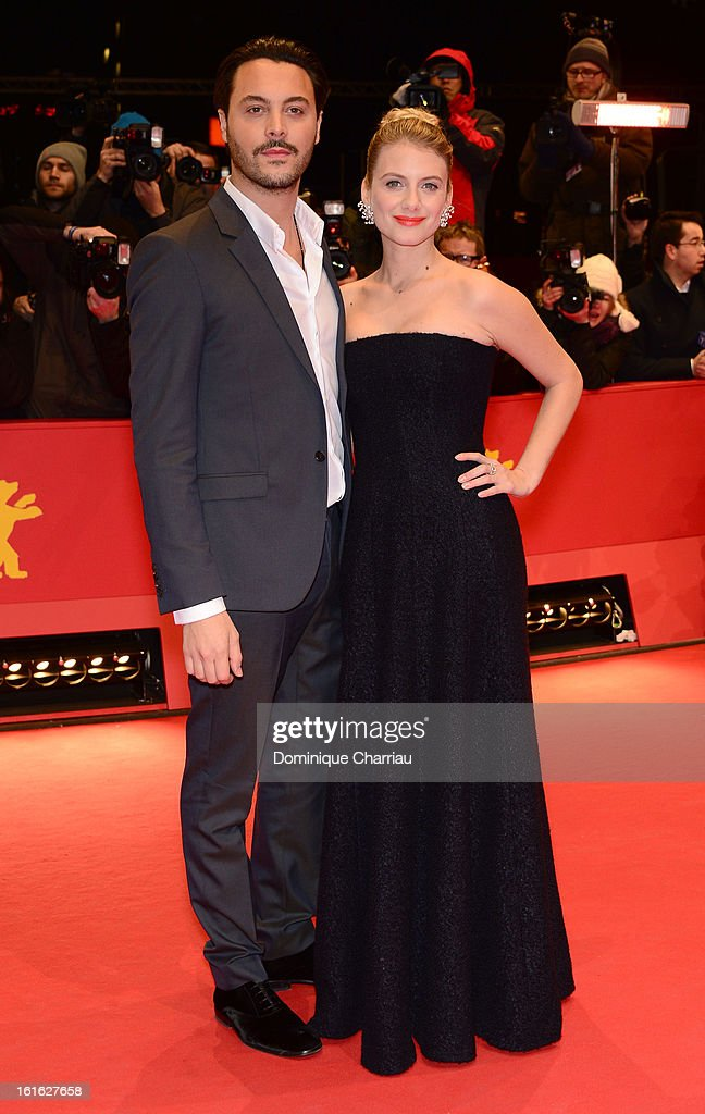 Actors Jack Huston and Melanie Laurent attends the 'Night Train to Lisbon' Premiere during the 63rd Berlinale International Film Festival at the Berlinale Palast on February 13, 2013 in Berlin, Germany.