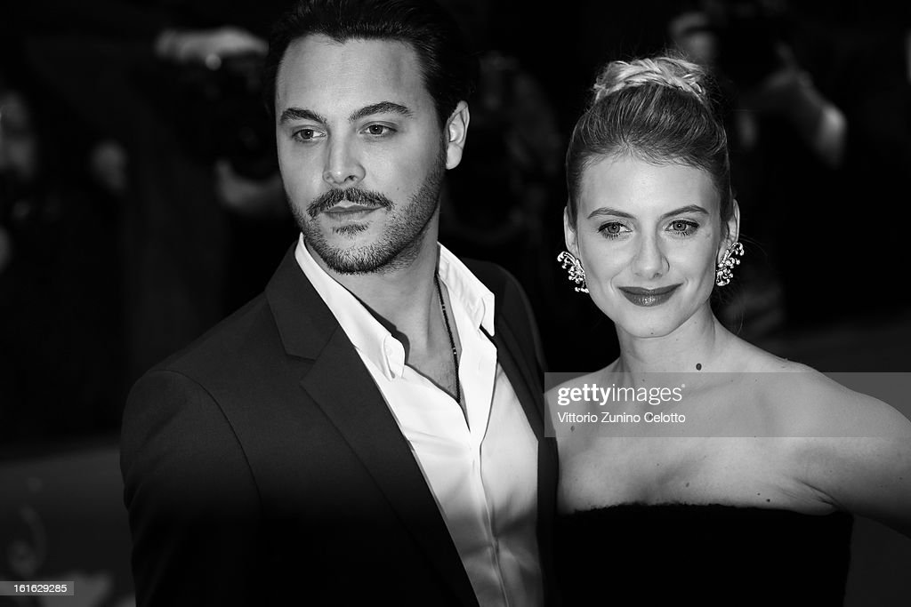 Actors Jack Huston and Melanie Laurent during the 63rd Berlinale International Film Festival at Berlinale Palast on February 13, 2013 in Berlin, Germany.