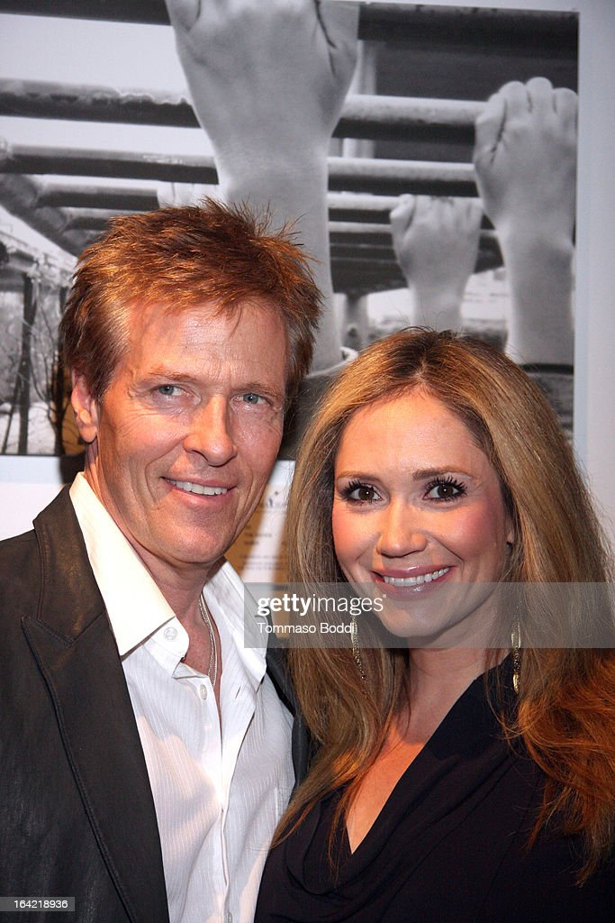 Actors <a gi-track='captionPersonalityLinkClicked' href=/galleries/search?phrase=Jack+Wagner&family=editorial&specificpeople=213524 ng-click='$event.stopPropagation()'>Jack Wagner</a> (L) and <a gi-track='captionPersonalityLinkClicked' href=/galleries/search?phrase=Ashley+Jones&family=editorial&specificpeople=226927 ng-click='$event.stopPropagation()'>Ashley Jones</a> attend the 1st Annual Norma Jean Gala held at the TCL Chinese Theatre on March 20, 2013 in Hollywood, California.