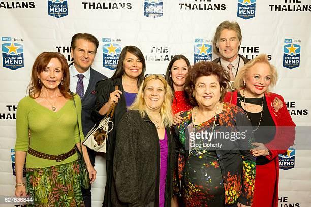 Actors Jacklyn Zeman Vincent De Paul Devin DeVasquez Guest Kira Reed Lorsch Guest Ronn Moss and Carol Connors arrive for The Thalians Presidents...