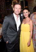 Actors Jacob Young and Elizabeth Hendrickson attend The 41st Annual Daytime Emmy Awards at The Beverly Hilton Hotel on June 22 2014 in Beverly Hills...