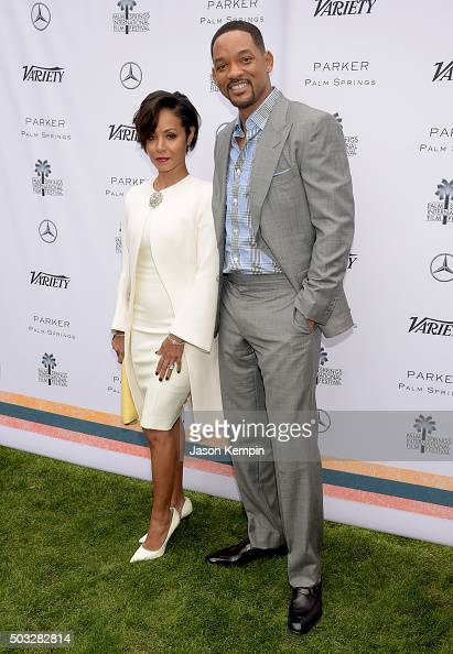 Actors Jada Pinkett Smith and Will Smith attend Variety's Creative Impact Awards and 10 Directors to Watch Brunch Presented By MercedesBenz at The...