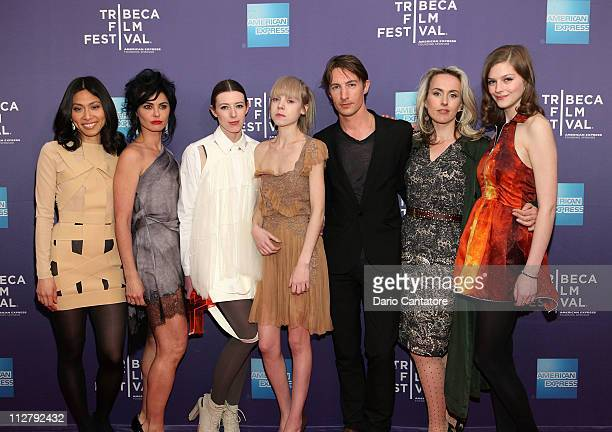 Actors Jai Choi Katrena Rochell Alexandra McGuinness Antonia CampbellHughes Benn Northover Cynthia Fortune Ryan and Amber Anderson attend the...