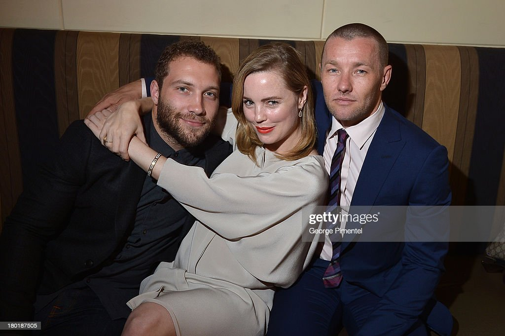 Actors <a gi-track='captionPersonalityLinkClicked' href=/galleries/search?phrase=Jai+Courtney&family=editorial&specificpeople=6723038 ng-click='$event.stopPropagation()'>Jai Courtney</a>, <a gi-track='captionPersonalityLinkClicked' href=/galleries/search?phrase=Melissa+George&family=editorial&specificpeople=201840 ng-click='$event.stopPropagation()'>Melissa George</a> and Actor/Writer/Director <a gi-track='captionPersonalityLinkClicked' href=/galleries/search?phrase=Joel+Edgerton&family=editorial&specificpeople=211291 ng-click='$event.stopPropagation()'>Joel Edgerton</a> attend InStyle and the Hollywood Foreign Press Association's Annual Toronto International Film Festival Party, hosted by Salvatore Ferragamo on Monday, September 9, 2013 held at the Windsor Arms Hotel in Toronto, Canada.