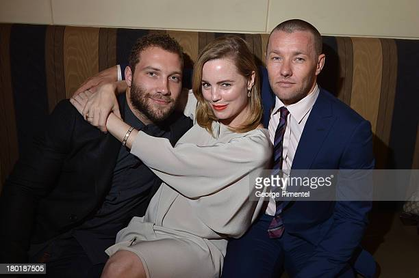 Actors Jai Courtney Melissa George and Actor/Writer/Director Joel Edgerton attend InStyle and the Hollywood Foreign Press Association's Annual...