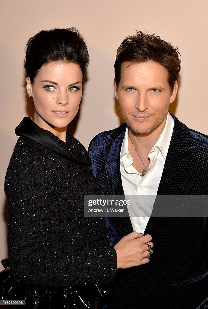 Actors <a gi-track='captionPersonalityLinkClicked' href=/galleries/search?phrase=Jaimie+Alexander&family=editorial&specificpeople=544496 ng-click='$event.stopPropagation()'>Jaimie Alexander</a> (L) and <a gi-track='captionPersonalityLinkClicked' href=/galleries/search?phrase=Peter+Facinelli&family=editorial&specificpeople=233464 ng-click='$event.stopPropagation()'>Peter Facinelli</a>, wearing Armani, attend Giorgio Armani One Night Only NYC at SuperPier on October 24, 2013 in New York City.