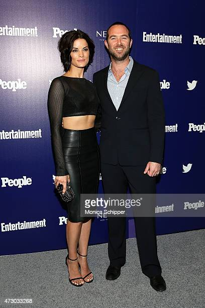 Actors Jaimie Alexander and Sullivan Stapleton attend New York UpFronts Party Hosted By People and Entertainment Weekly at The Highline Hotel on May...