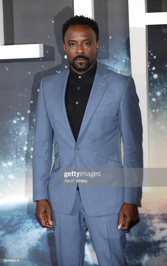 Actors Jake Ariyon Bakare attends a photocall for 'Life' at the Corinthia Hotel on March 16, 2017 in London, England. 'Life' is released in cinemas nationwide on March 24, 2017.