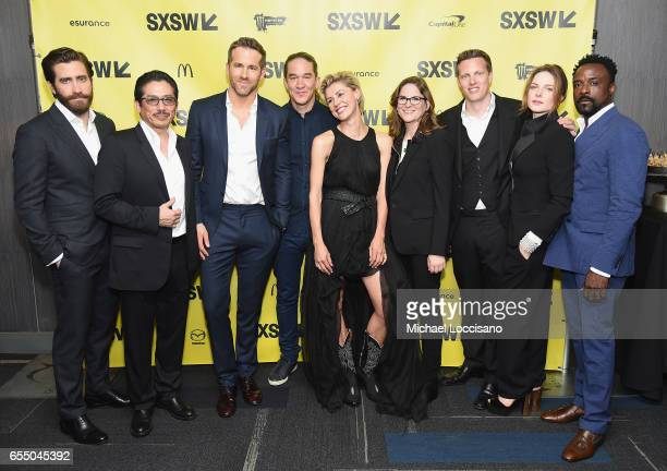 Actors Jake Gyllenhaal Hiroyuki Sanada and Ryan Reynolds Director Daniel Espinosa actress Olga Dihovichnaya Producers Dana Goldberg and David Ellison...