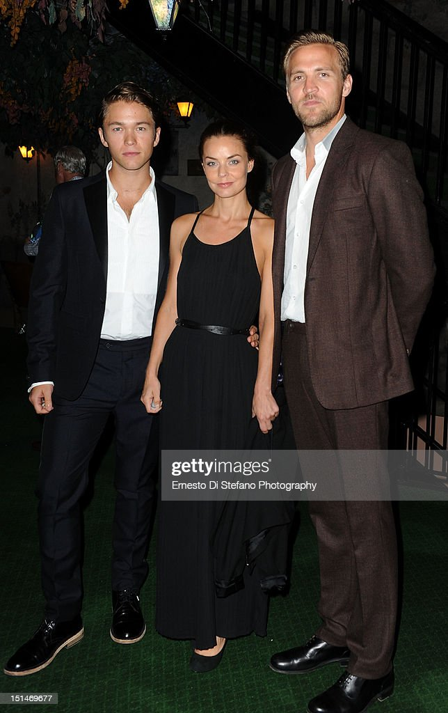 Actors Jakob Oftebro, Agnes Kittelsen and Tobias Santelmann attend the 'Kon-Tiki' premiere during the 2012 Toronto International Film Festival on September 7, 2012 in Toronto, Canada.