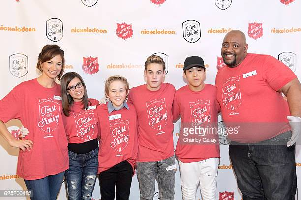 Actors Jama Williamson from School of Rock Madisyn Shipman from Game Shakers Casey Simpson from Nicky Ricky Dicky Dawn Ricardo Hurtado from Glitch...