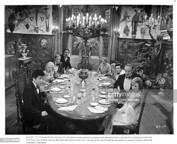 Actors James CocoJames Cromwellactress Eileen Brennan Richard Narita actress Estelle Winwood actor Peter Falk actresses Elsa Lanchester Estelle...
