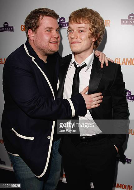 Actors James Cordon and Alfie Allen attend the Glamour Women Of The Year Awards held at Berkeley Square Gardens on June 3 2008 in London England