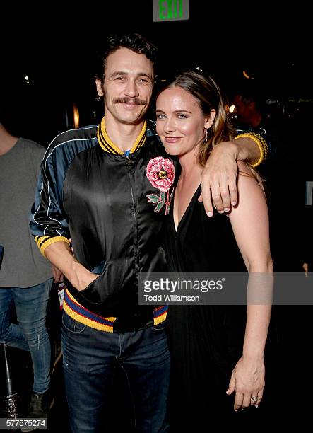 Actors James Franco and Alicia Silverstone attend the 2016 Outfest Los Angeles screening of 'King Cobra' and the presentation of the James Schamus...