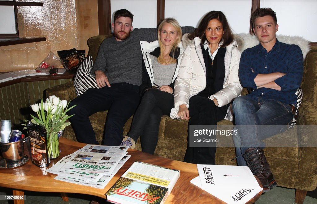 Actors James Frecheville and Naomi Watts, director Anne Fontaine and actor Xavier Samuel attend Day 1 of the Variety Studio at 2013 Sundance Film Festival on January 19, 2013 in Park City, Utah.