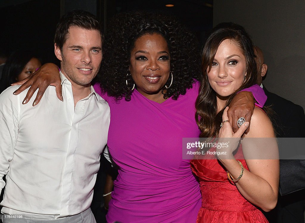 Actors James Marsden, Oprah Winfrey and Minka Kelly attend the after party for the Premiere Of The Weinstein Company's 'Lee Daniels' The Butler' at Regal Cinemas L.A. Live on August 12, 2013 in Los Angeles, California.