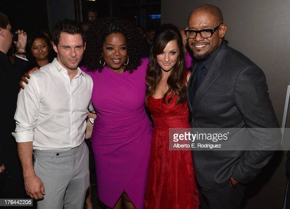 Actors James Marsden Oprah Winfrey Minka Kelly and Forest Whitaker attend the after party for the Premiere Of The Weinstein Company's 'Lee Daniels'...
