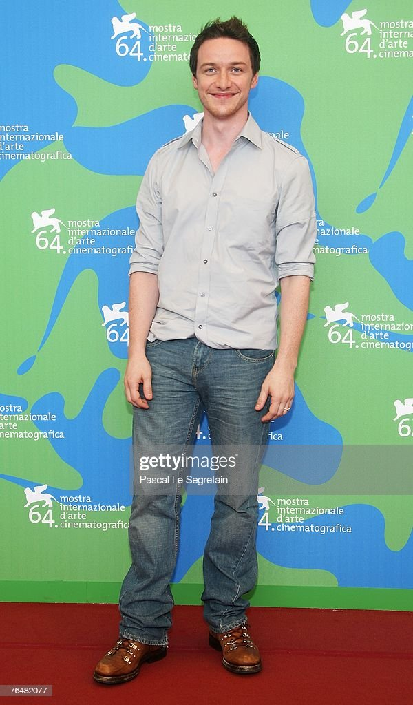 Actors James McAvoy attends the Atonement photocall during Day 1 of the 64th Annual Venice Film Festival on August 29, 2007 in Venice, Italy.
