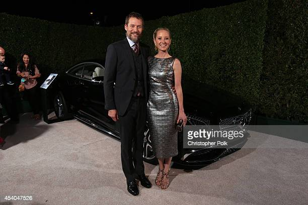 Actors James Tupper and Anne Heche attend Variety and Women in Film Emmy Nominee Celebration powered by Samsung Galaxy on August 23 2014 in West...
